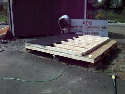 How To Build A Shed Step 8 Construction Woodworking DIY Backyard Home Improvement with Music