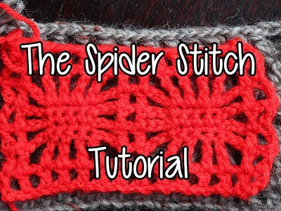 How to crochet the Spider Stitch