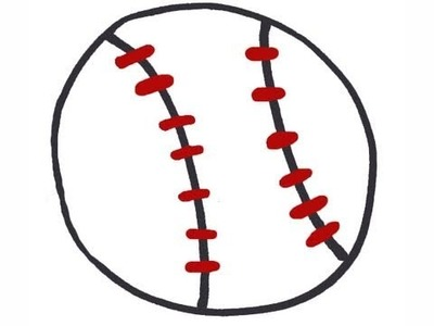 How to draw a baseball - EP