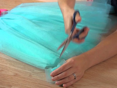 How to Get the Tulle on the Tutu Straight : Craft Projects