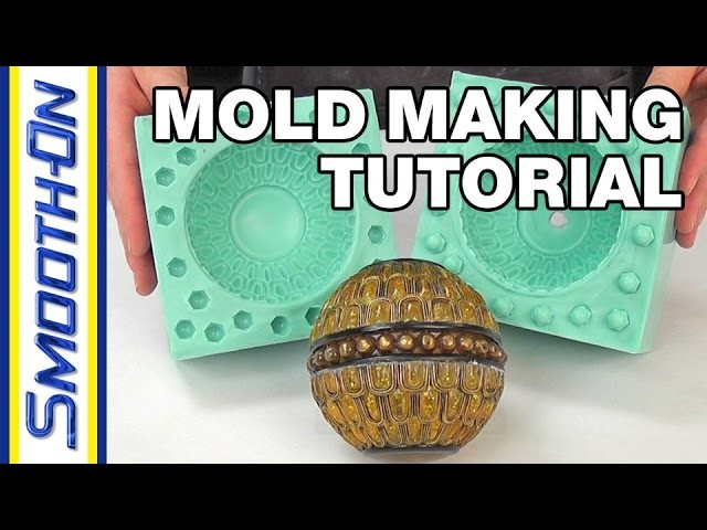 How To Make a 2 Piece Silicone Rubber Mold