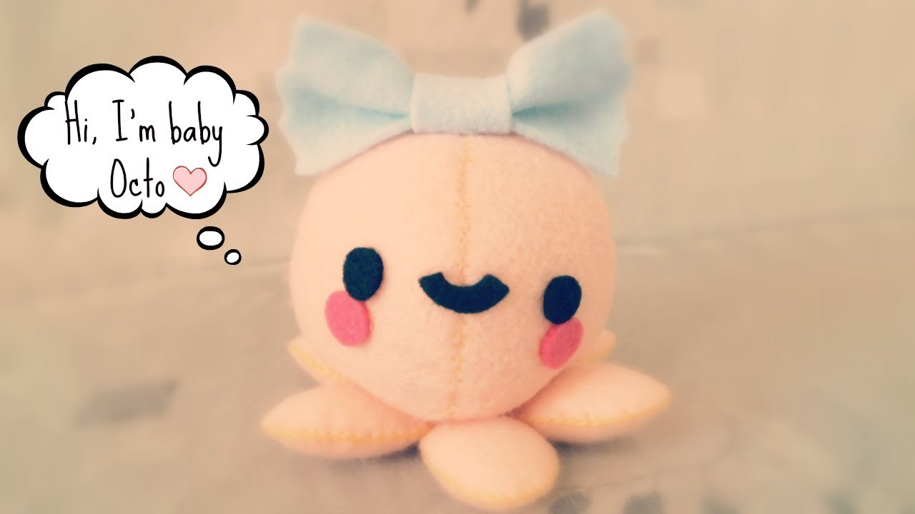 How To Make A Kawaii Octopus Plushie Tutorial
