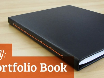 How to Make a Portfolio Book