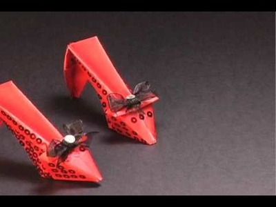 How to make stylish shoes with Klutz Fashion Origami
