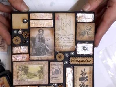 Linda's (livartnow) Mixed Media Mosaic Tile Technique - jennings644
