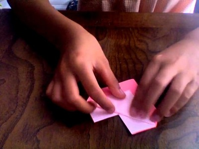 Make a origami heart with a pocket