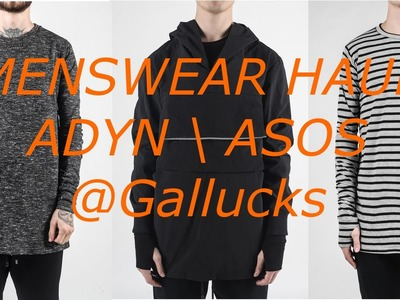 Mens Fashion Haul ADYN. ASOS | Gallucks