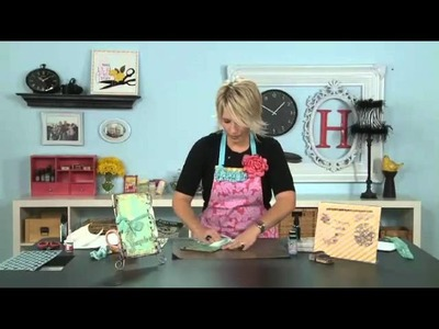 My Craft Channel: Create to Remember with Heidi Swapp - Misting Technique Album
