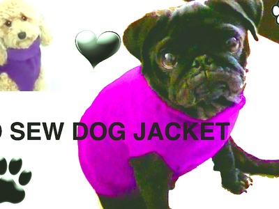 NO SEW DOG JACKET - DIY Dog clothes - a tutorial by Cooking For Dogs