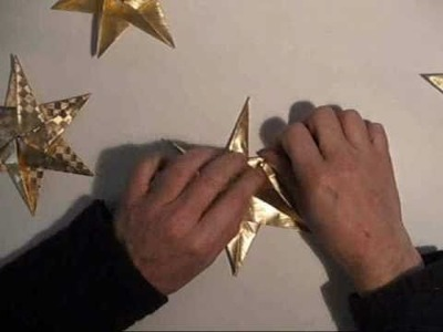 Origami star for cristmas