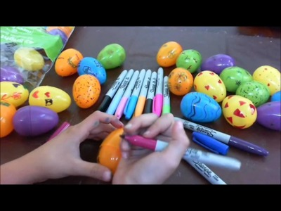 Rachel's Easter Eggs Tutotial  with Little Craft Box