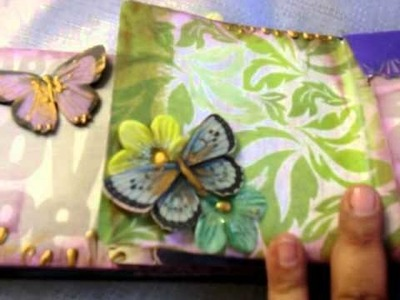 SCRAPBOOKING PAPER BAG MINI BOOK