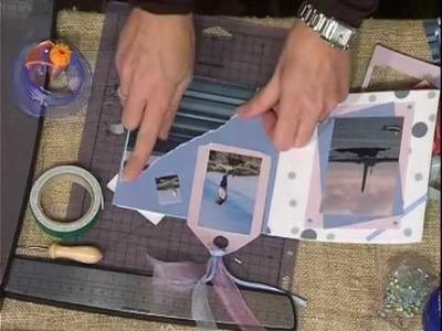 Scrapbooking tutorials: mini album delle vacanze part 2