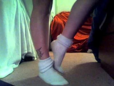 Stinky fuzzy cable knit knee socks u know you want them