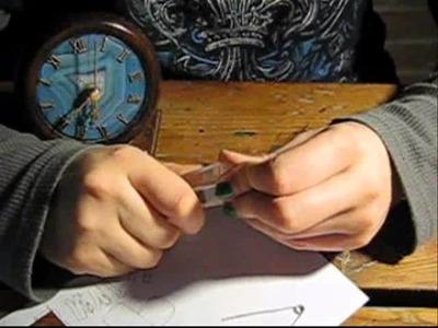 Timelapse: Making of Plexiglass Atlantis Necklace with Papercraft Pattern