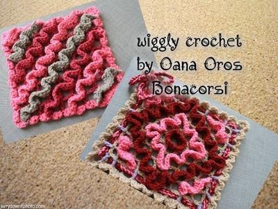 Wiggly crochet - ondeggiato