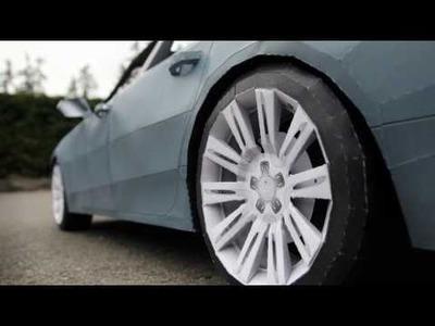 """""""2012 Audi A7"""" - Papercraft"""