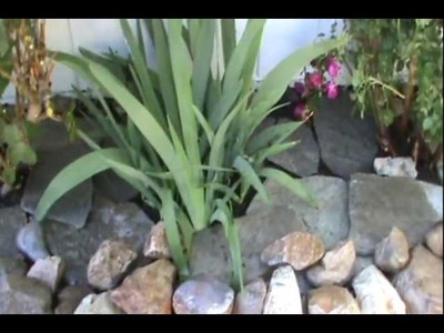 "Building the Raised ""Dry Stone"" Rock Planter diy"