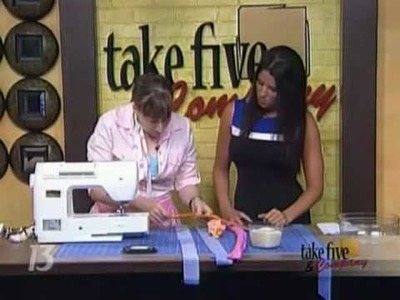 CraftSanity on TV: Cool off by making a neck cooler