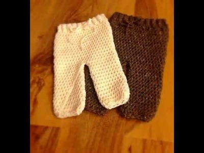 Crochet Pattern *Baby Pants*