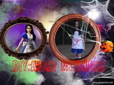 DIY Alice Madness halloween costume