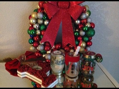 DIY: CHRISTMAS DECORATIONS