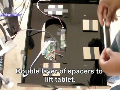 DIY Cintiq Intuos4 Large Enclosure Assembly Part 3 of 4