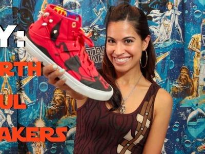 DIY Darth Maul Sneakers