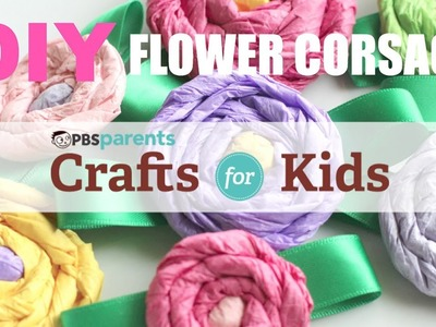 DIY Flower Corsages | Crafts for Kids | PBS Parents