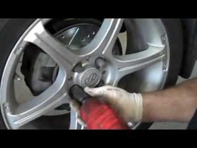 DIY:  How to install brake rotors and brake pads