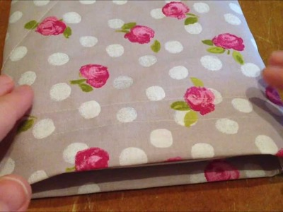 ~DIY: Make an easy bag.pouch for your tablet~