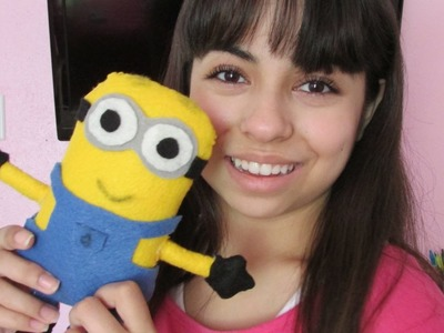 DIY Minion Plush!!!