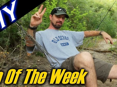 "DIY Paracord Net. Hammock Chair - ""Tip Of The Week"" E24"