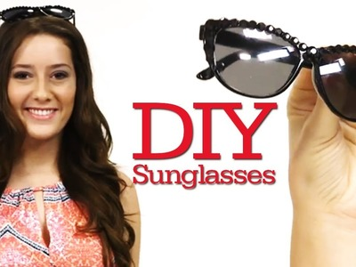 DIY Rhinestone Sunglasses & Date Night OOTD! #17daily