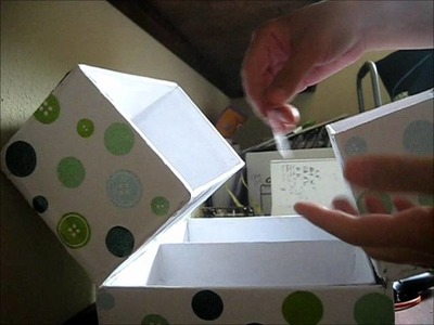 DIY Sewing Storage Box