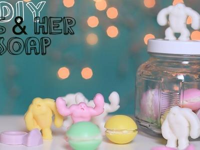 DIY Soap Gift Ideas Macaron, Abominable Snowman & Rings