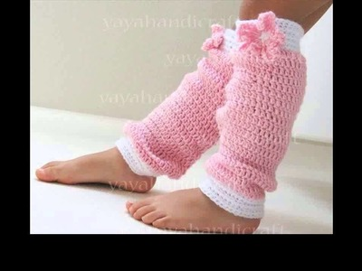 Easy crochet leg warmers free patterns