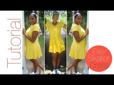 Easy DIY Skater Dress