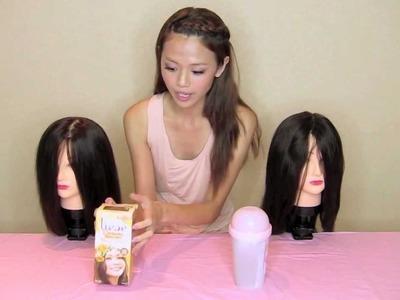 Foam. Bubble hair colour - D.I.Y - QiuQiu