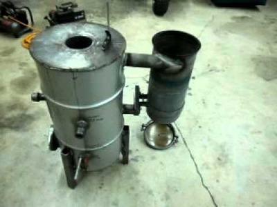 Gasifier progress update #2 diy biomass gasifier