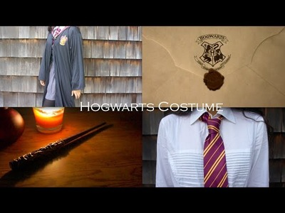 Hogwarts Costume + DIY Wand!