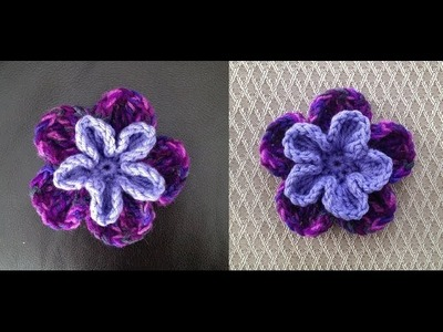 How to Crochet a Flower Pattern #22 by ThePatterfamily