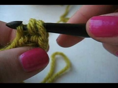 How to Crochet: Base Chain Half Double Crochet (base ch.hdc)