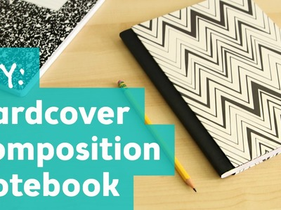 How to Make a Hardcover Composition Notebook