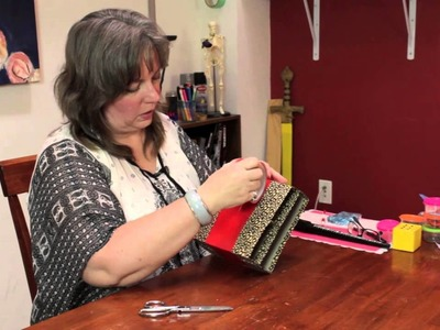 How to Make a Personal Organizer for a Handbag : Homemade Crafts