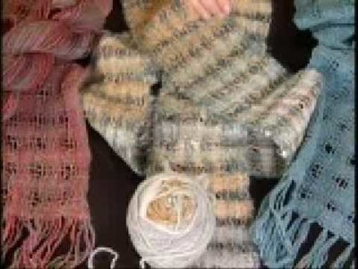 KDTV 205 You Made It - Handwoven Scarves from Handspun, Handpainted Fibers