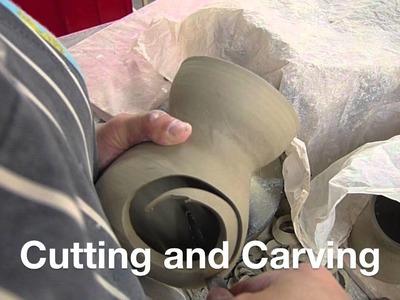 Making a 3 legged oil burner - Clay Craft Malaysia