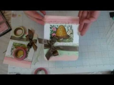 March 2013 Online Classroom Bonus- Springtime Day Card Making Tutorial