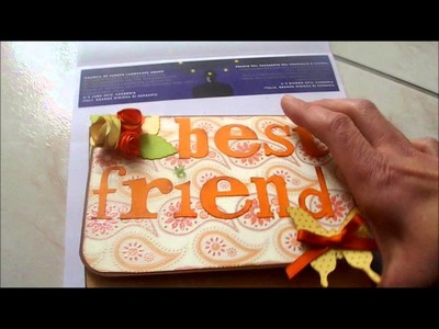 MINI ALBUM BEST FRIEND ( SCRAPBOOKING )
