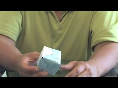 Origami Interlocking Cube Instructions : Origami Ideas